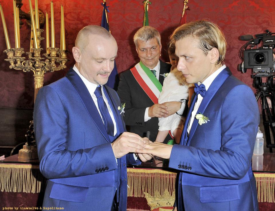 celebrazione unione civile lgbt roma - wedding planner lgbt - unione civile da vip tra Preziosa e Puccioni
