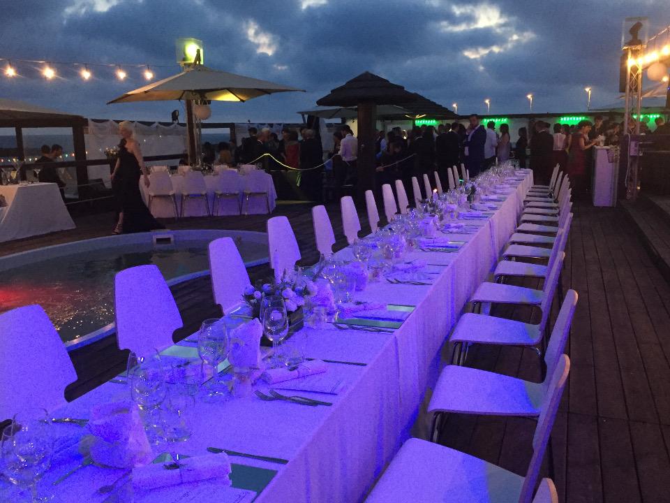 wedding planner venezia - allestimento tavoli
